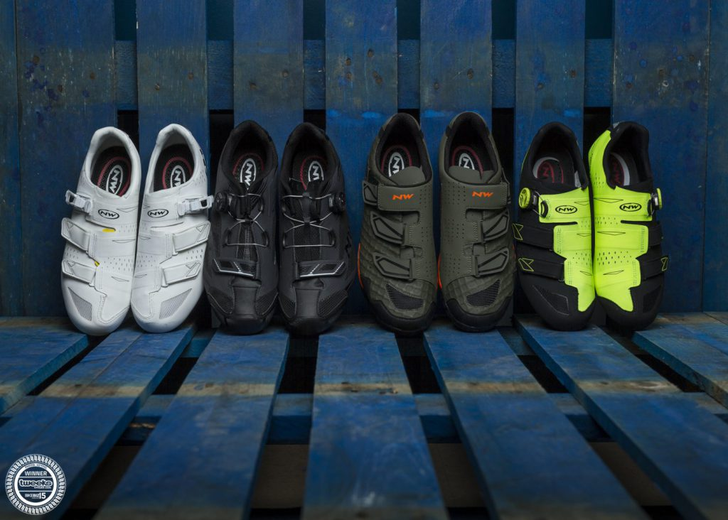 a selection of northwave cycling shoes