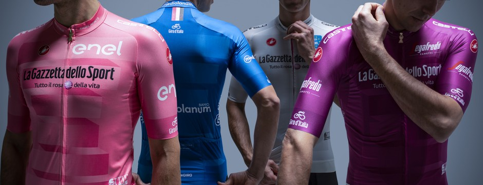 What the coloured jerseys mean at the Giro d'Italia